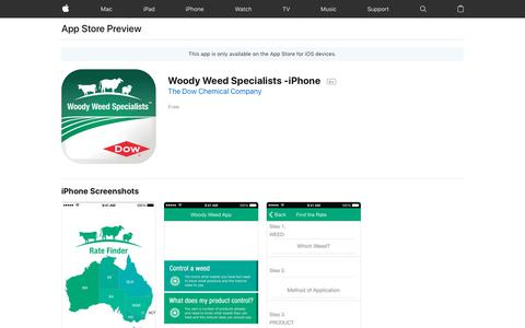 Woody Weed Specialists -iPhone on the AppStore
