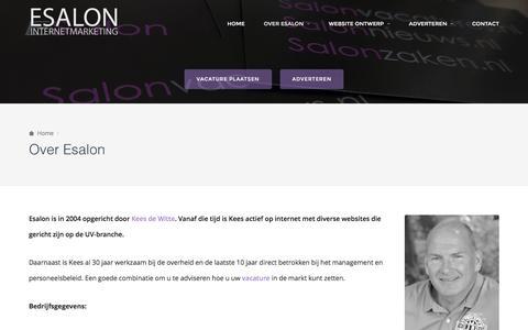 Over Esalon – ESALON Internetmarketing
