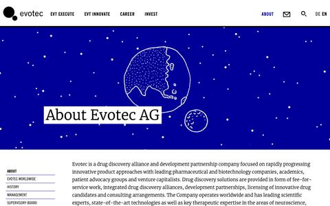 Screenshot of About Page evotec.com - About - Evotec - captured Oct. 14, 2018