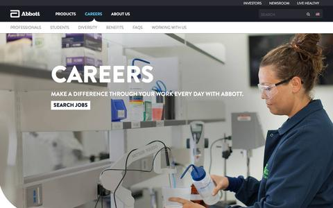 Careers | Abbott U.S.