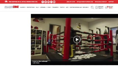 Screenshot of Press Page combatcorner.com - MMA Videos and Downloads | Combat Corner Professional - captured Sept. 29, 2018