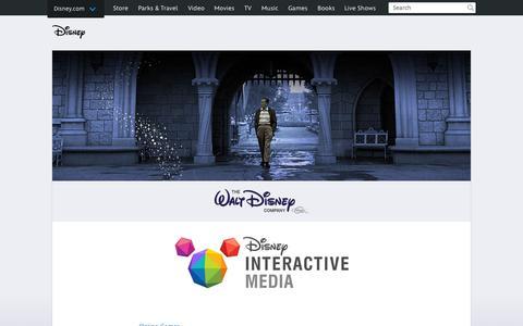 Screenshot of Home Page go.com - Go.com   The Walt Disney Company - captured Sept. 17, 2015