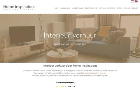 Screenshot of Home Page home-inspirations.nl - Home Inspirations - captured May 20, 2017