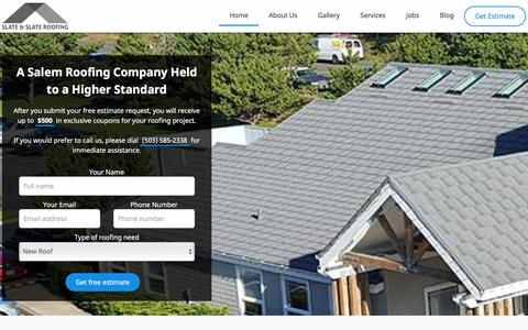 Roofing Company in Salem, Oregon - Slate & Slate Roofing