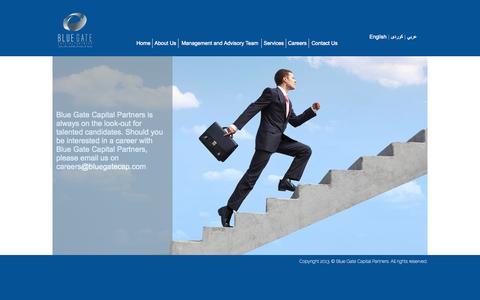 Screenshot of Jobs Page bluegatecap.com - Blue Gate Capital Partners - captured Oct. 5, 2014