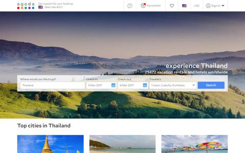 Thailand Hotels - Online hotel reservations for Hotels in Thailand