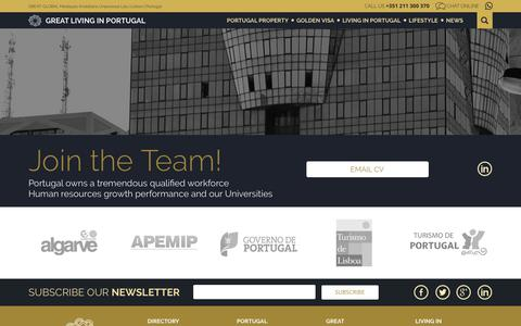 Screenshot of Privacy Page greatlivinginportugal.com - Privacy Policy - Great   Living in Portugal - captured July 23, 2018