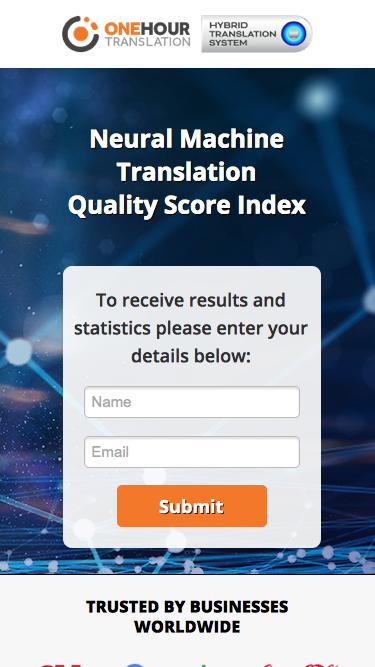 NMT Quality Score Index by OHT