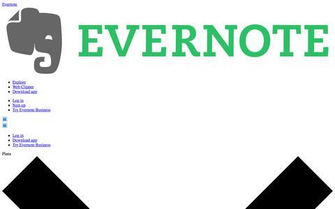 Screenshot of Jobs Page evernote.com - Careers at Evernote | Evernote - captured Dec. 3, 2017