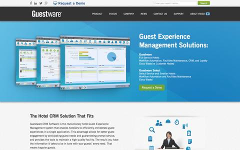 Why Guestware - CRM Software for the Hotel Industry