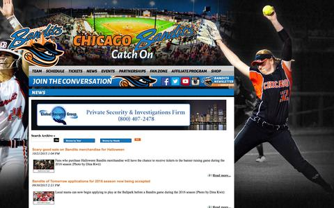 Chicago Bandits Softball | National Pro Fastpitch: News