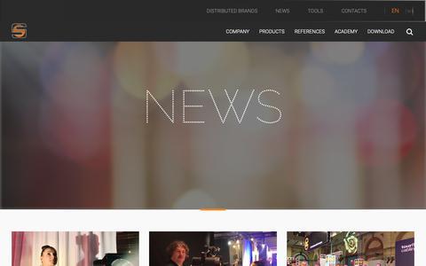 Screenshot of Press Page spotlight.it - News - Spotlight - captured Oct. 1, 2018