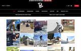 Old Screenshot Bakerized Skate Shop Home Page