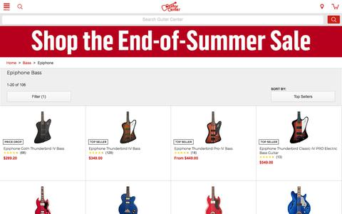 Epiphone Bass   Guitar Center