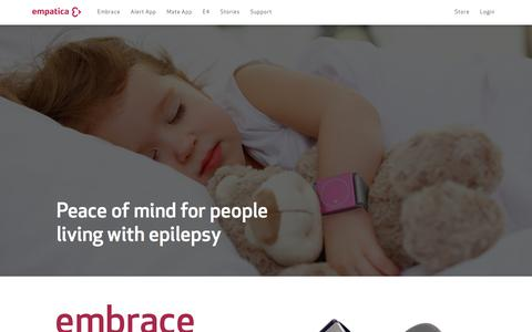 Embrace Seizure Detection | Empatica | Free Trial