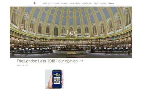 Screenshot of Blog southeasttourguides.co.uk - Blog — London & South East Tour Guides - captured Oct. 20, 2018