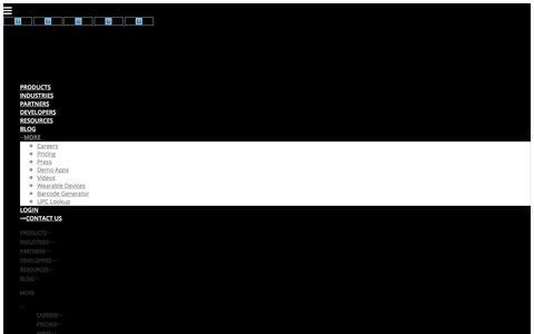 Sample Page - Scandit
