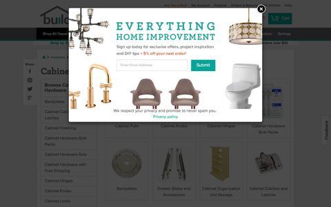 Cabinet Hardware @ Build.com