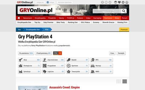 Gry PlayStation 4 | GRYOnline.pl