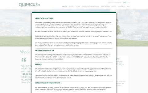 Screenshot of About Page quercus-partners.com - About - Quercus Investment Partners - captured Sept. 19, 2017