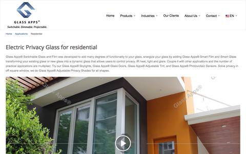 Electric Privacy Glass | Electronic Window Tint