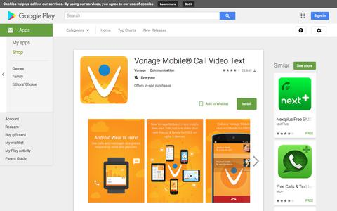 Vonage Mobile® Call Video Text - Android Apps on Google Play