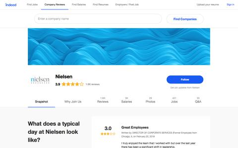 Nielsen Careers and Employment | Indeed.com