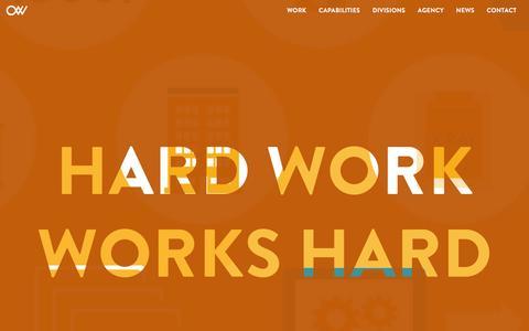 Crowley Webb | Hardworking Ad Agency