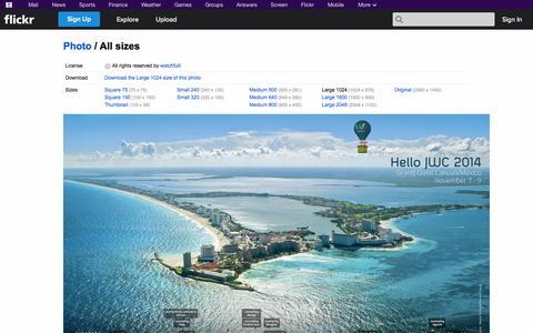 Screenshot of Flickr Page flickr.com - All sizes | November 2014 Wallpaper | Flickr - Photo Sharing! - captured Nov. 2, 2014