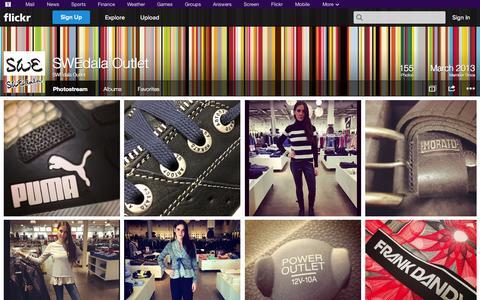 Screenshot of Flickr Page flickr.com - Flickr: SWEdala Outlet's Photostream - captured Oct. 23, 2014