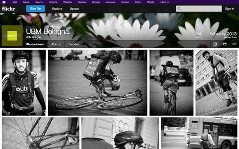 Screenshot of Flickr Page flickr.com - Flickr: UBM Bologna's Photostream - captured Oct. 23, 2014