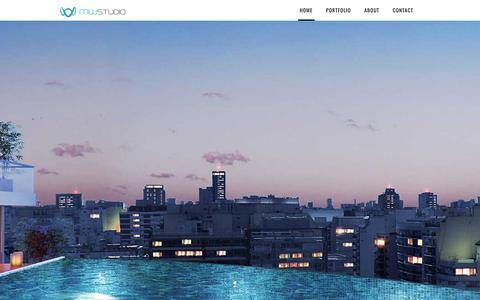 Screenshot of Home Page mwstudio3d.com - MW Studio - captured Oct. 4, 2017