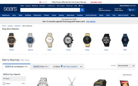 Men's Watches - Sears