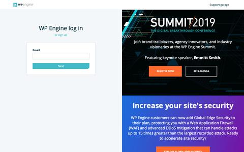 B2B Services Login Pages | Website Inspiration and Examples