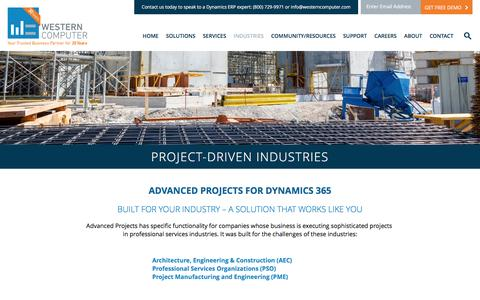 Project-Driven Industries