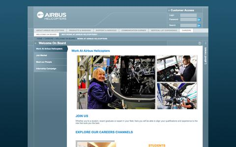 Screenshot of Jobs Page airbushelicopters.com - Work at Airbus Helicopters - Airbus Helicopters - captured Sept. 18, 2014