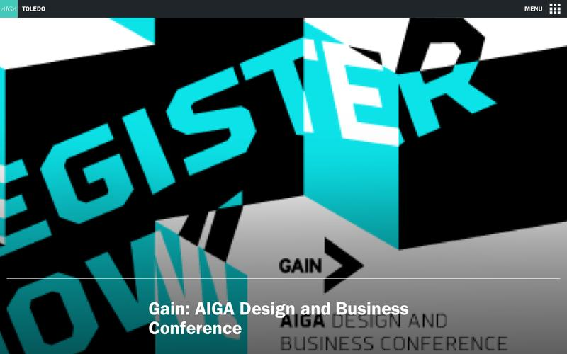 Gain: AIGA Design and Business Conference | AIGA Toledo