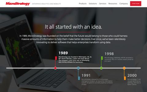 Why MicroStrategy | MicroStrategy