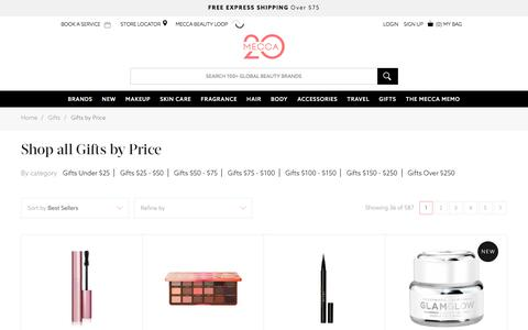 Shop Gifts - Gifts by Price | MECCA