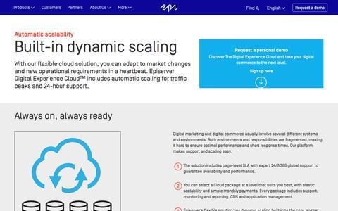 Multi-Channel Commerce | Digital Commerce | Episerver Digital Experience Cloud
