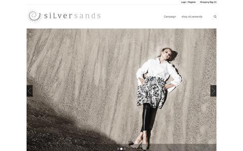 Screenshot of Press Page silver-sands.eu - world of siLversands - captured Oct. 26, 2014