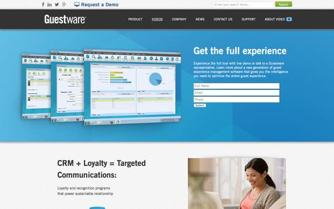 Guestware Tours - CRM Software for the Hotel Industry