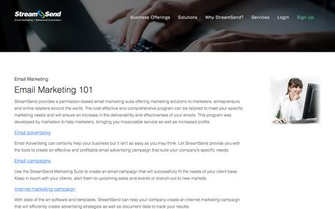 Email Marketing 101: Articles on Email Marketing Software, Email Campaigns & More - StreamSend