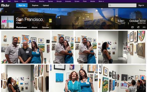 Screenshot of Flickr Page flickr.com - Flickr: ArtSpan's Photostream - captured Oct. 29, 2014