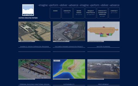 Screenshot of Case Studies Page en-route.aero - Case studies | Enroute - captured Oct. 3, 2014