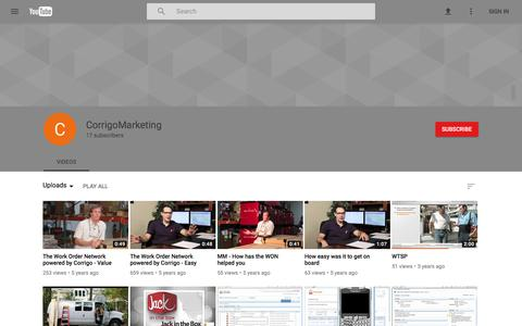 CorrigoMarketing - YouTube