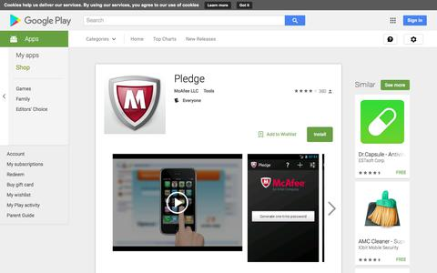 Pledge - Android Apps on Google Play