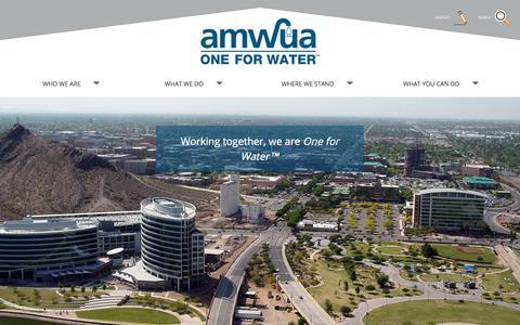 Screenshot of Team Page amwua.org - Who We Are   AMWUA - captured Oct. 8, 2017