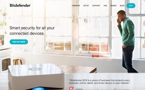 Bitdefender BOX - IoT Security Solution For All Connected Devices