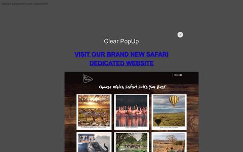 Screenshot of Home Page karibuworld.com captured Jan. 21, 2019